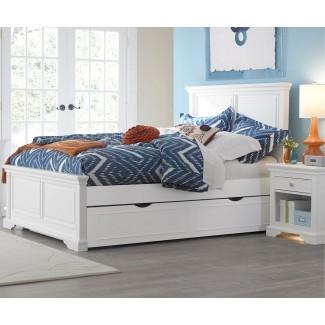 Dormitorio: linda cama nido blanca para inspirar a una adolescente ...