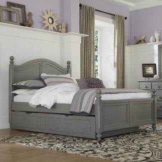 NE Kids Lake House Full Bed con cabecera arqueada y