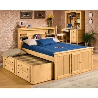 Biblioteca completa con cama nido de Trendwood   Wolf Furniture