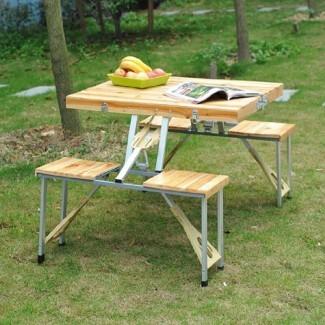 Mesa de picnic plegable Corby