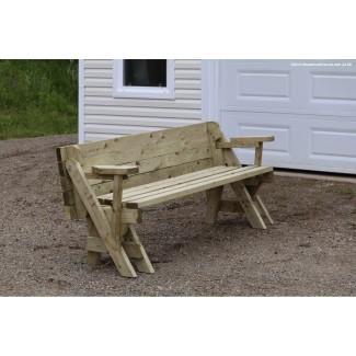 Mesa de picnic plegable de banco -
