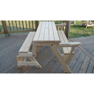 Combo de banco y mesa de picnic plegables - Comunidad de propietarios de Kreg