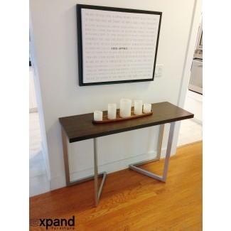Transformando la consola a la tabla | Expand Furniture