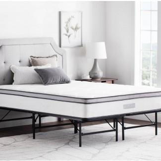 Marco de cama de plataforma de metal plegable Irma
