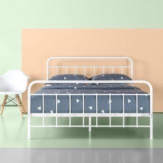 Marco de cama con plataforma metálica Aly
