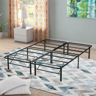 Marco de cama de metal de plataforma resistente Gabriele
