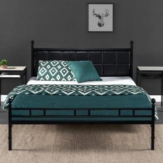 Marco de cama tapizado Mayne