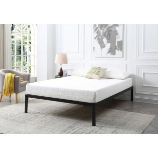 Amaia Marco de cama de listones de madera