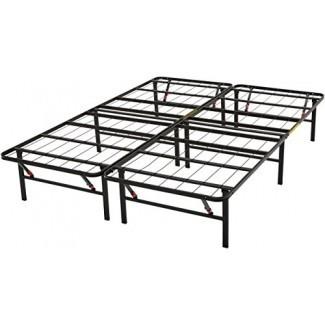 AmazonBa Marco de cama de plataforma sics, negro