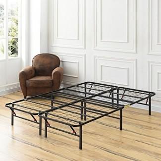 Marco de cama de metal de plataforma Classic Brands, utilizar como somier o base