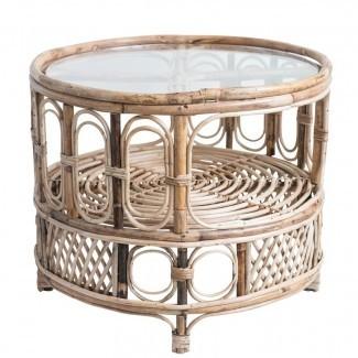 Mesa de café Antonucci de bambú / vidrio [19659010] <b> Mesa de centro de bambú / vidrio Antonucci </b><br /> El intrincado diseño de esta mesa de café bohemio-chic de bambú trae un montón de encanto natural en el interior y crea una decoración fabulosa por sí misma. Viene con una tapa de vidrio transparente y un estante conveniente para los elementos esenciales de su zona de descanso. </div> </p></div> <div class=