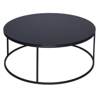 mesa de centro moderna de vidrio circular de gillmorespace ...