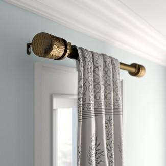 Juego de herrajes y cortinas ajustables para cortinas simples Peterson