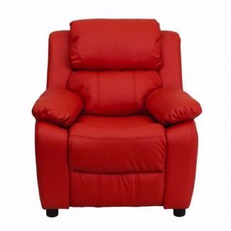 Sillón reclinable Heinz Deluxe muy acolchado