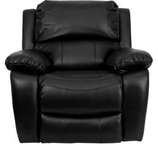 Personalice el sillón reclinable de cuero