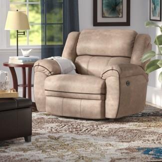 Sillón reclinable eléctrico Simmons Genevieve