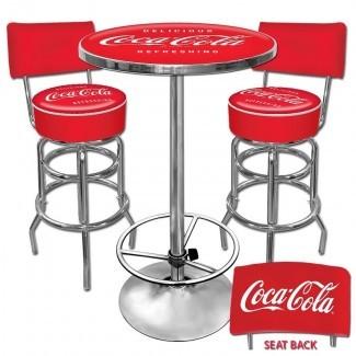 Juego de mesa de pub Coca Cola de 3 piezas