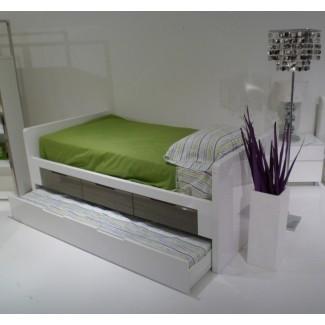 Cama individual con almacenamiento Ikea White Fotos 40   Cama