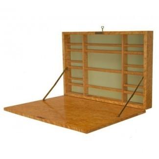 Ideas de escritorio plegable montado en la pared para vivir en un espacio pequeño ...