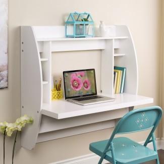 Plegable mural Ideas de escritorio para vivir en espacios pequeños ...
