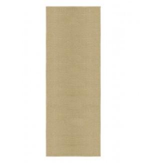 Alfombra Barlow antideslizante con área de color beige