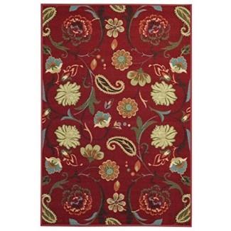 Maxy Home Hamam Collection, alfombras de goma para el área floral