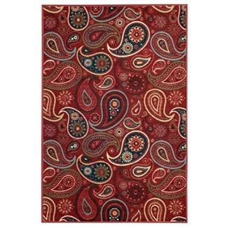 Maxy Home Hamam Collection, alfombras de goma para el área de Paisley