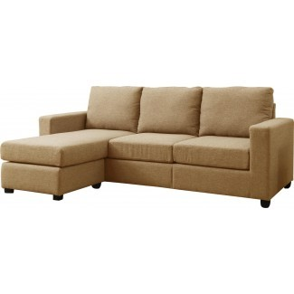 Cleland Heights Reversible Sectional con otomana