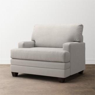 Sofá y silla y media Sofá cama doble de cuero Davis