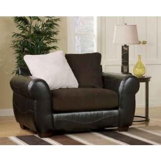 silla y media cama con otomana