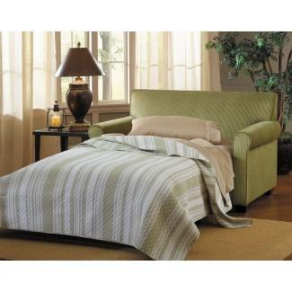 Sofá y medio sofá cama Davis Twin Sleeper Sofa