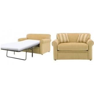 Silla y medio sofá cama Hermosa silla y una