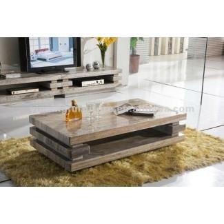 20 Mesa de centro rústica superior y soporte para TV | TV