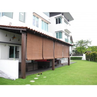 Cortinas de bambú al aire libre en línea | Cortina