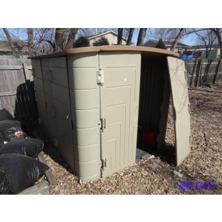 Pensando en el cobertizo de almacenamiento exterior
