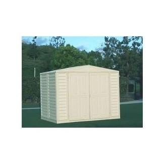 Edificio de cobertizo de almacenamiento exterior de pensamiento