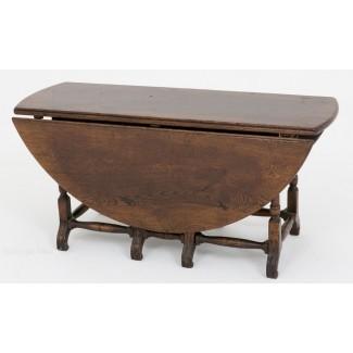 Mesa de centro de hoja de roble - Antigüedades Atlas
