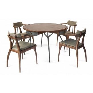 Mesa redonda de comedor y mesa de comedor Talon ...
