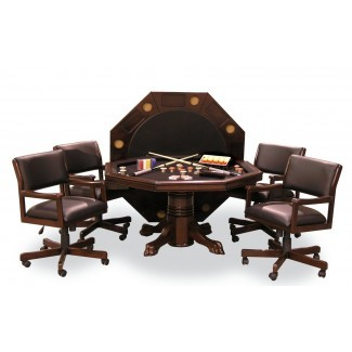 mesas y sillas-3 juegos en 1 Dining Top, Card