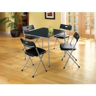 Cosco Home and Office Products Mesa y sillas de 5 piezas