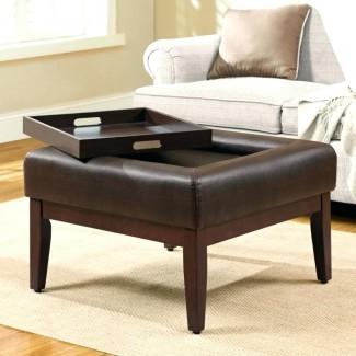 Muebles: Mesa de centro otomana de gran tamaño para elegantes ...