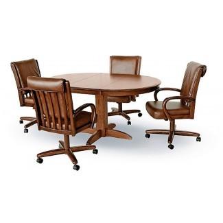 Comedor con silla giratoria Chromcraft - Conceptos de habitaciones [19659010] Chromcraft Caster Chair Dining - Conceptos de sala </div> </p></div> <div class=