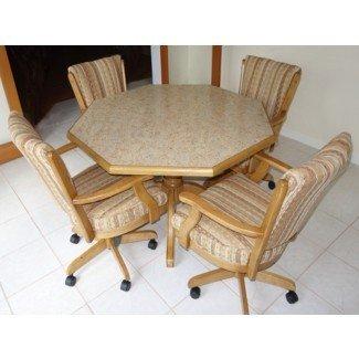 Juegos de mesa de cocina con imágenes de sillas giratorias. Di Te Sets