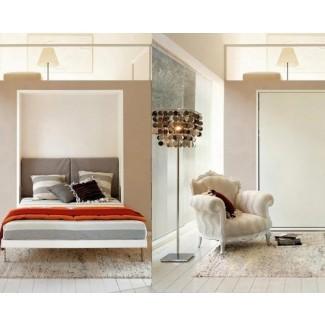 Soluciones de ahorro de espacio y lecho de pared
