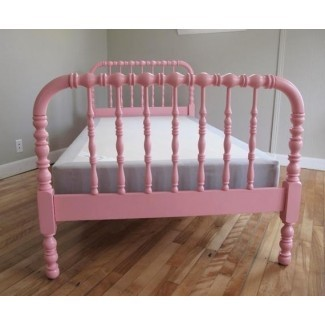Cama Jenny Lind de doble husillo Bed Pink o your by