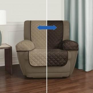 Sillón reclinable Fundas para brazos Protector para muebles Lazy Boy ...