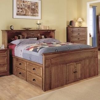 Dormitorio: cama de capitanes cautivadores con cama ...
