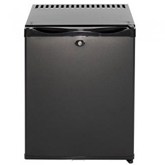 Minibar con refrigerador de absorción de sobremesa SMAD con cerradura, 30 litros, 110V / 12V