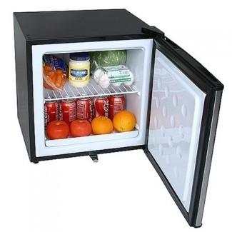 Refrigerador de congelador compacto con cerradura - Acero inoxidable ...