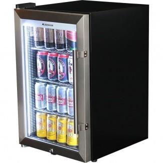 Ideas: mini refrigerador de acero inoxidable sólido interesante con ...